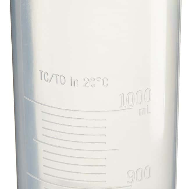 Thermo Scientific™Nalgene™ Polypropylene Economy Plastic Graduated Cylinders 1000mL Thermo Scientific™Nalgene™ Polypropylene Economy Plastic Graduated Cylinders