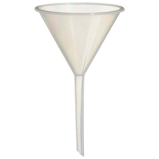 FisherbrandLong-Stem Analytical Funnels Top dia. x stem L: 77 x 80mm; Height: