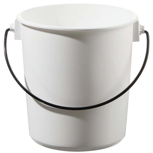 Thermo Scientific™Nalgene™ LDPE Buckets with Lids Capacity: 8 qt. (7.6L) Thermo Scientific™Nalgene™ LDPE Buckets with Lids