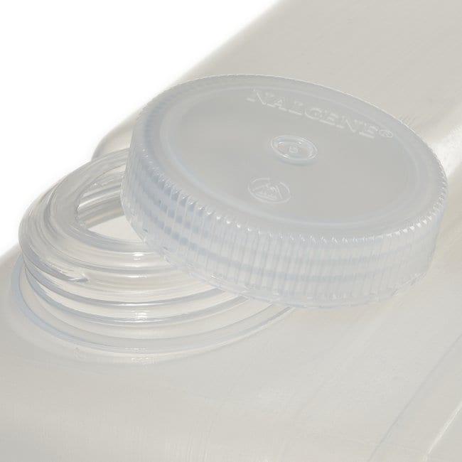 Thermo Scientific™Nalgene™ Autoklavierbare Flachkanister aus Polypropylen-Copolymer (PPCO) mit Hahn 4 gal. (15L) Thermo Scientific™Nalgene™ Autoklavierbare Flachkanister aus Polypropylen-Copolymer (PPCO) mit Hahn