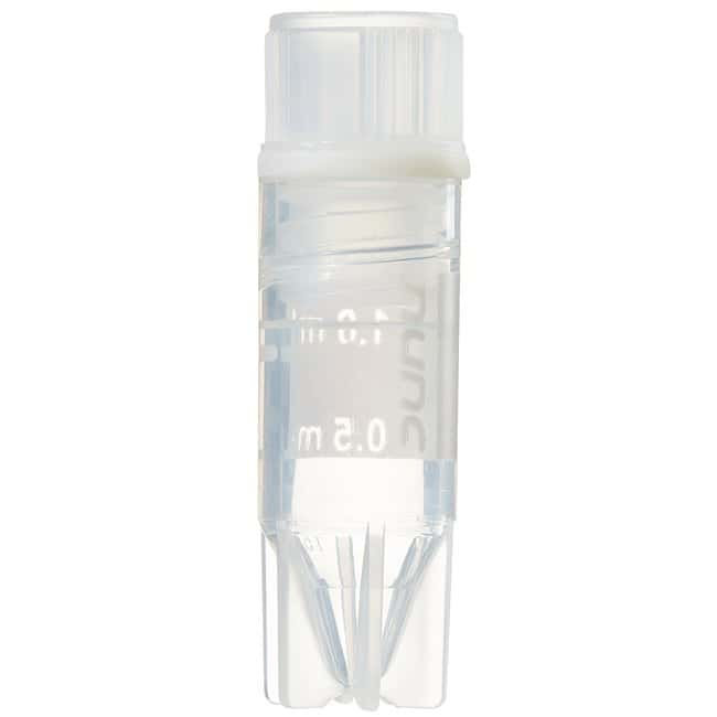 Thermo Scientific™Nunc™ Biobanking and Cell Culture Cryogenic Tubes Nunc CryoTube Vial, 1.0mL, int. thread, conical bottom, PP tube w/ writing area, screw cap, self-standing starfoot Thermo Scientific™Nunc™ Biobanking and Cell Culture Cryogenic Tubes