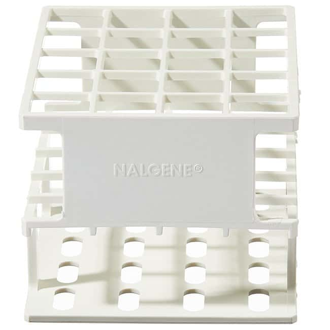 Thermo Scientific™ Nalgene™ Unwire™ Half-Racks: Resmer™ Manufacturing Technology Unwire Test Tube Half Rack, for 20mm Tubes; Holds 20; White Thermo Scientific™ Nalgene™ Unwire™ Half-Racks: Resmer™ Manufacturing Technology