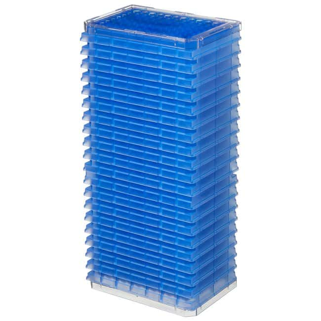 Thermo Scientific™ Nunc™ 96-Well Polypropylene Storage Microplates 96 Conical Well, Blue Polypropylene, Non-Treated, without lid, Non-sterile Thermo Scientific™ Nunc™ 96-Well Polypropylene Storage Microplates