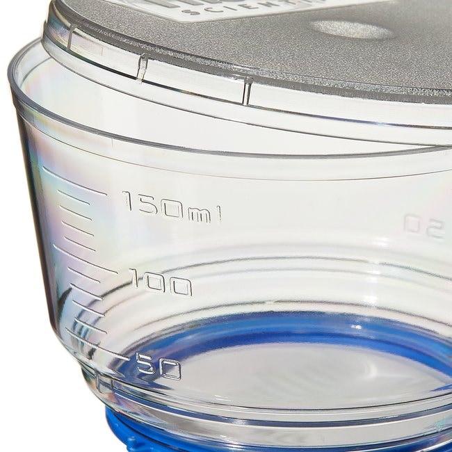 Thermo Scientific™Nalgene™ Rapid-Flow™ Sterile Single Use Bottle Top Filters 150mL; Membrane: 50mm; Pore Size: 0.45μm; Fits neck size: 33mm Thermo Scientific™Nalgene™ Rapid-Flow™ Sterile Single Use Bottle Top Filters