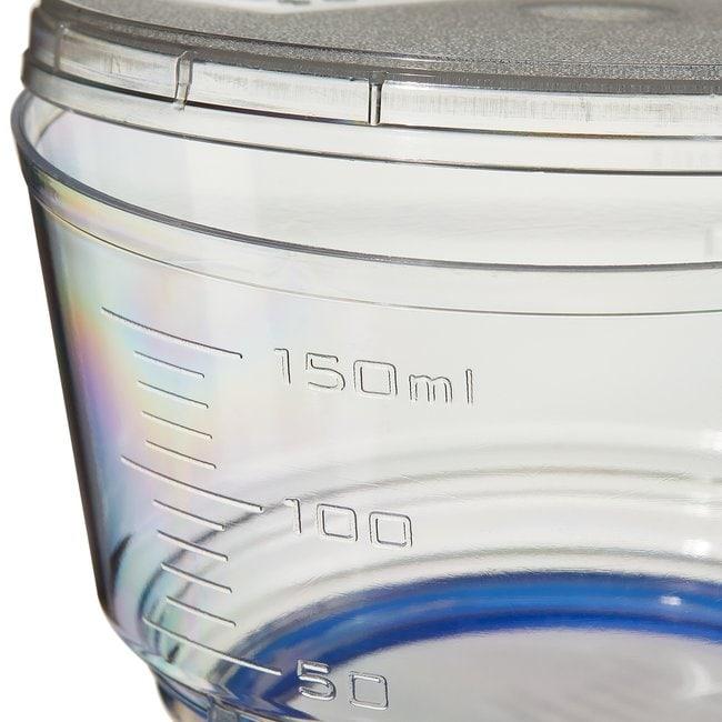 Thermo Scientific™Nalgene™ Rapid-Flow™ Sterile Single Use Bottle Top Filters 150mL; Membrane: 50mm; Pore Size: 0.45μm; Fits neck size: 45mm Thermo Scientific™Nalgene™ Rapid-Flow™ Sterile Single Use Bottle Top Filters