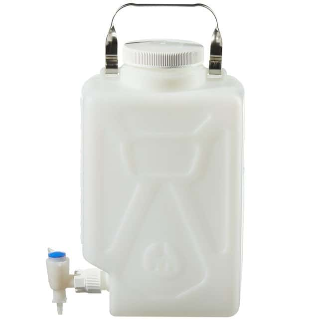 Thermo Scientific™Nalgene™ Fluorinated HDPE, Carboy with Spigot 2.4 gal. (9L) Thermo Scientific™Nalgene™ Fluorinated HDPE, Carboy with Spigot