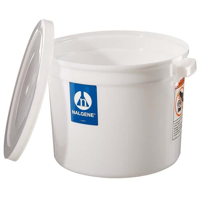 Thermo Scientific™Nalgene™ Large Cylindrical HDPE Containers with Covers