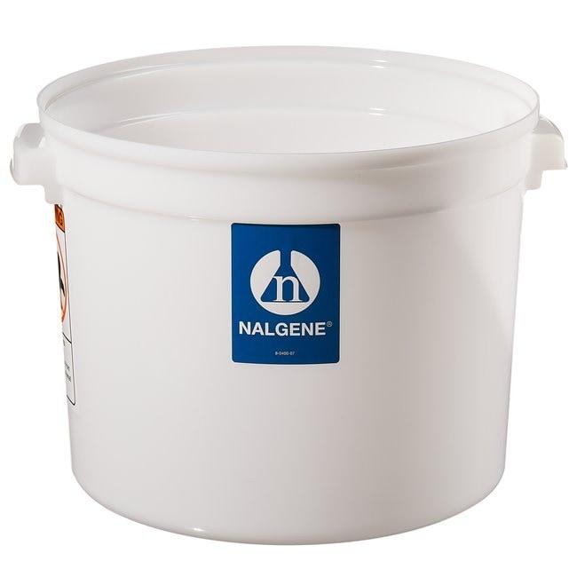 Thermo Scientific™Nalgene™ große runde HDPE-Behälter mit Deckel Großer Behälter mit Deckel, 4gal. (15l) Thermo Scientific™Nalgene™ große runde HDPE-Behälter mit Deckel