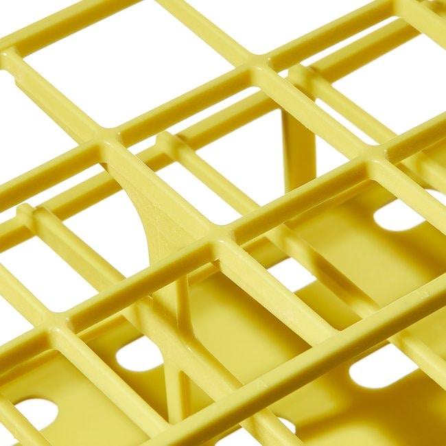 Thermo Scientific™Gradillas para tubos de ensayo Nalgene™ Unwire™: Tecnología de fabricación Resmer™ Gradilla para tubos de ensayo Unwire; para tubos de 30mm; con capacidad para 24; amarillo Thermo Scientific™Gradillas para tubos de ensayo Nalgene™ Unwire™: Tecnología de fabricación Resmer™