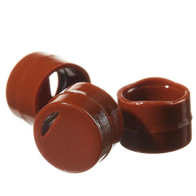 Thermo Scientific™Codificadores de color para tapones de viales criogénicos Codificador de tapones de viales Nunc CryoColor, PC, marrón Thermo Scientific™Codificadores de color para tapones de viales criogénicos