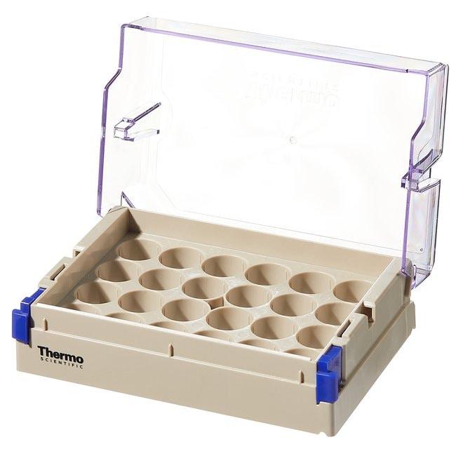 Thermo Scientific™Nunc™ Low Profile 5.0mL Externally-Threaded Universal Tubes Empty Universal Tube Rack with Lid Thermo Scientific™Nunc™ Low Profile 5.0mL Externally-Threaded Universal Tubes