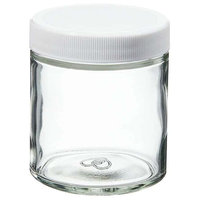 Thermo Scientific™ Wide-Mouth VOA Glass Jars with Closure