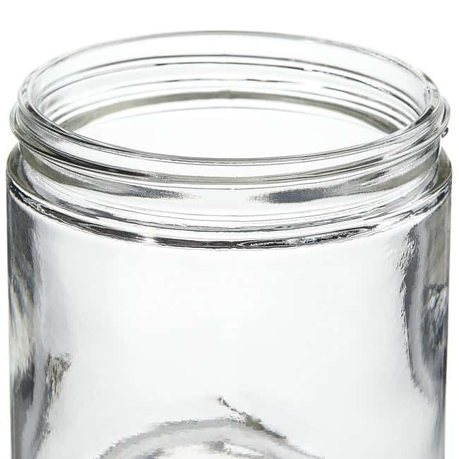 Thermo Scientific Wide-Mouth VOA Glass Jars with Closure 500mL Clear short