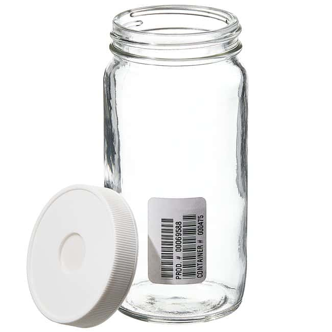 Thermo Scientific™ Wide-Mouth Septa Jars