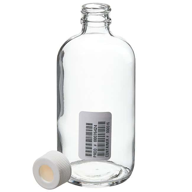 Thermo Scientific  Narrow-Mouth Glass Septa Bottles with Open-Top Closure