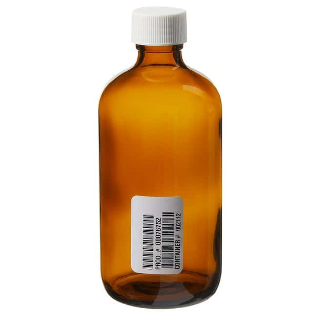 Thermo Scientific  I-Chem  Boston Round Narrow-Mouth Amber Glass Bottles with Closure