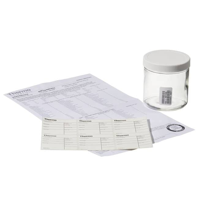 Thermo Scientific™Wide-Mouth VOA Glass Jars with Closure