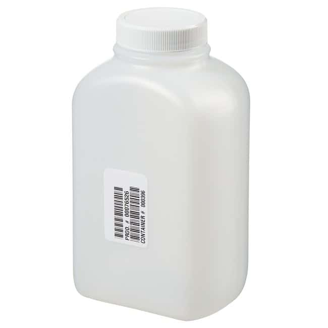 Thermo Scientific Wide-Mouth HDPE Oblong with Lined Closure 500mL HDPE