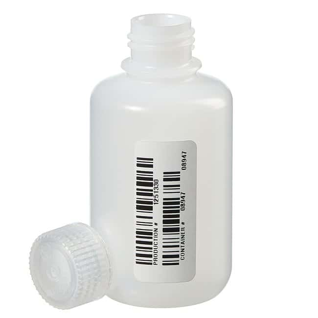 Thermo Scientific™Nalgene™ Certified Narrow-Mouth HDPE Bottle with Polypropylene Screw Closure