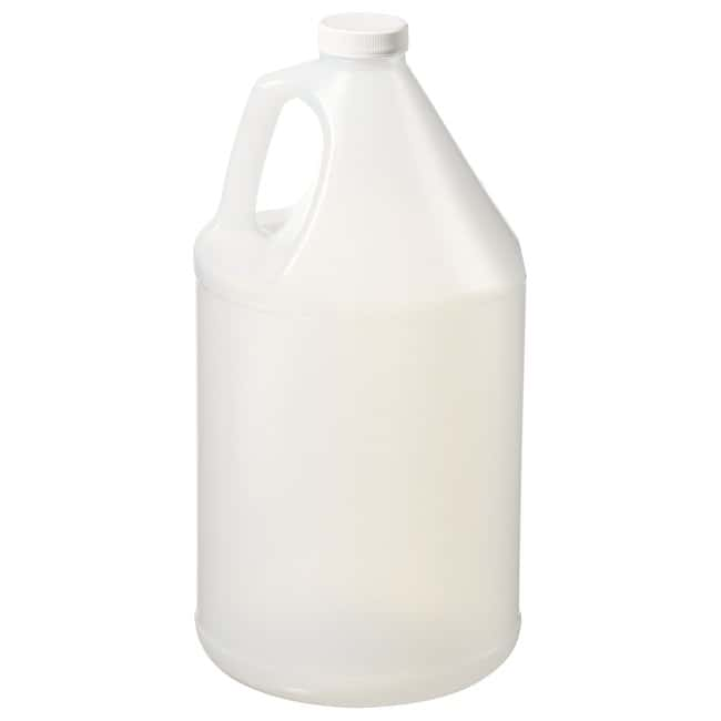 Thermo Scientific  HDPE Jugs with White LDPE Foam-Lined Polypropylene Screw Closure