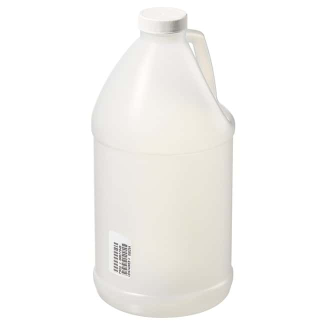 Thermo Scientific™ HDPE Jugs with White LDPE Foam-Lined Polypropylene Screw Closure
