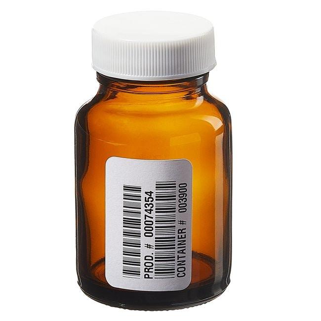 Fisherbrand™Frascos ámbar de boca ancha con certificado de pureza Capacity: 2 oz. (60mL) Fisherbrand™Frascos ámbar de boca ancha con certificado de pureza