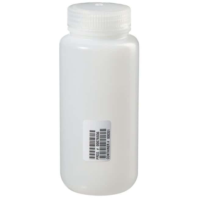 Fisherbrand  Pre-Cleaned Wide Mouth Leakproof Bottles