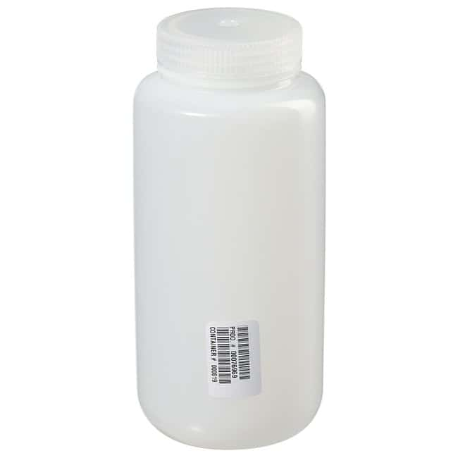 Fisherbrand™ Pre-Cleaned Wide Mouth Leakproof Bottles