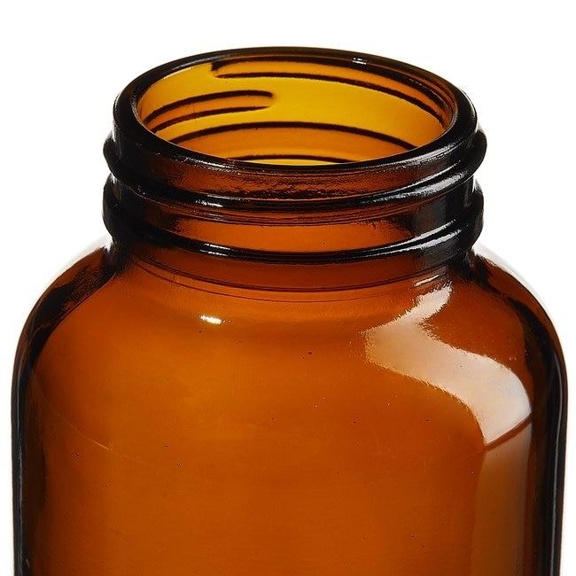 Fisherbrand™Zertifiziert reine braune Packer-Weithalsflaschen Capacity: 8 oz. (250mL) Fisherbrand™Zertifiziert reine braune Packer-Weithalsflaschen