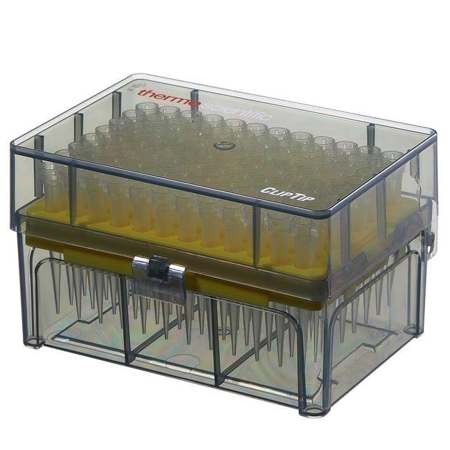 Thermo Scientific™ClipTip™ Pipettenspitzen ohne Filter (EU IVD/CE-Kennzeichnung) ClipTip 200, 10 to 200μL, Racked Thermo Scientific™ClipTip™ Pipettenspitzen ohne Filter (EU IVD/CE-Kennzeichnung)