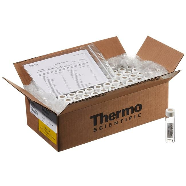 Thermo Scientific I-Chem and EP Amber VOA Glass Vials with 0.125in. Septa,