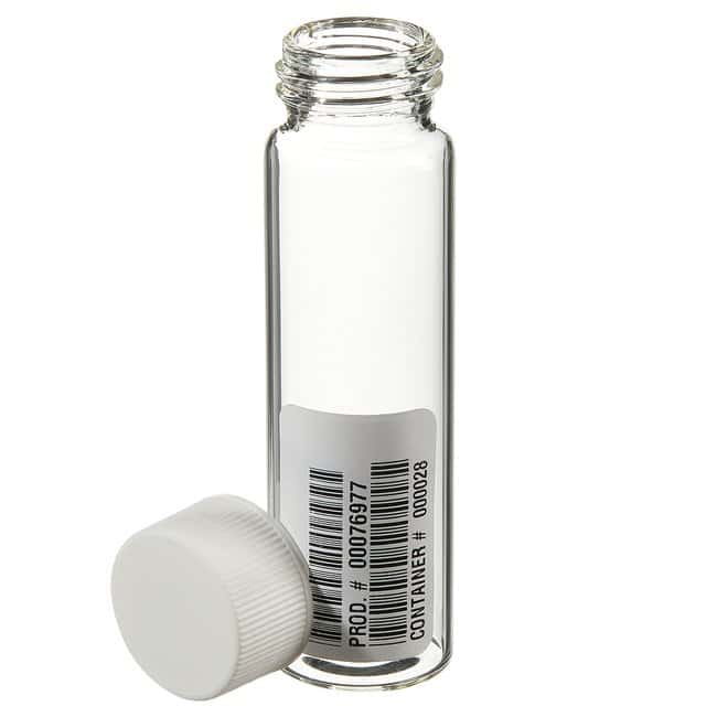 Thermo ScientificI-Chem Clear VOA Glass Vials with Closed-Top Cap 40mL