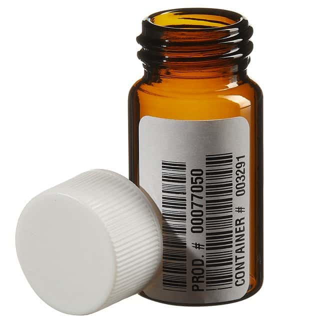 Thermo Scientific I-Chem Amber VOA Glass Vials with Closed-Top Cap  20mL