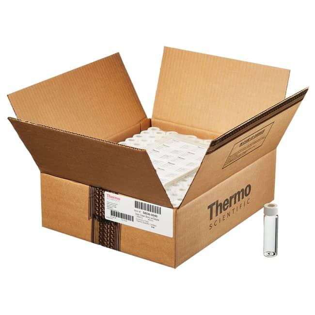Thermo ScientificI-Chem Economy Processed VOA Glass Vials with Septa 40mL