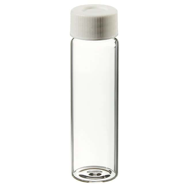 Thermo ScientificClear VOA Glass Vials with 0.060in. Septa 40mL Vial clear