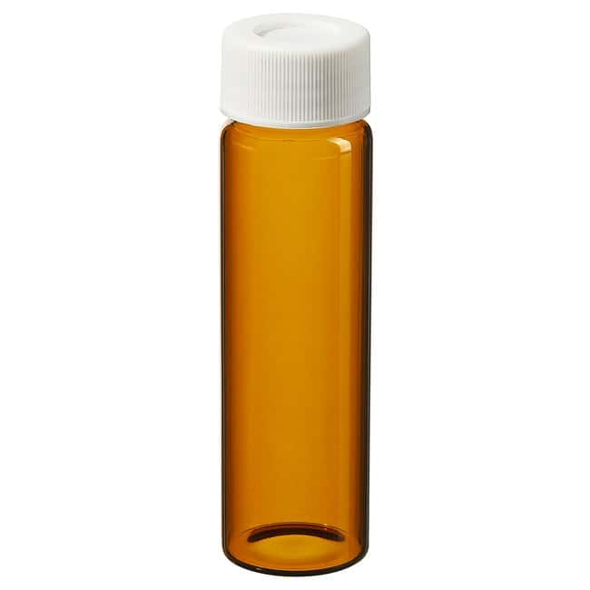 Thermo Scientific I-Chem Amber VOA Glass Vials with 0.060in. Septa 40mL