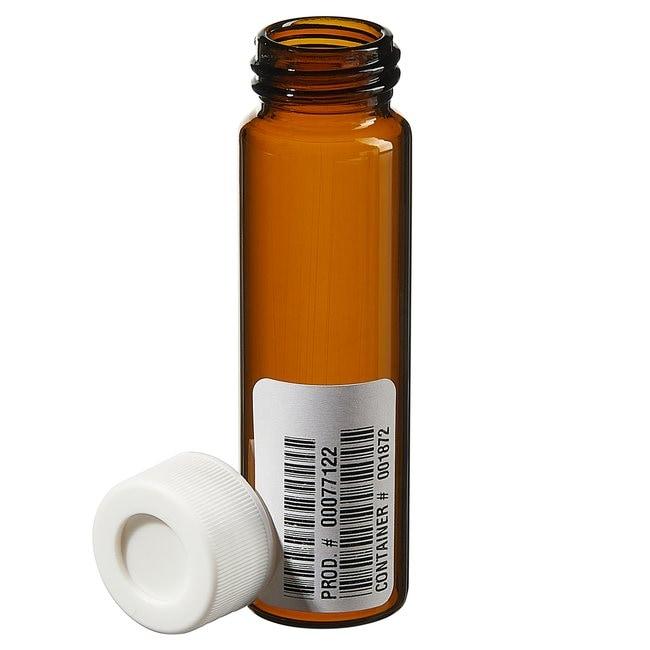 Thermo ScientificI-Chem Amber VOA Glass Vials with 0.060in. Septa 40mL