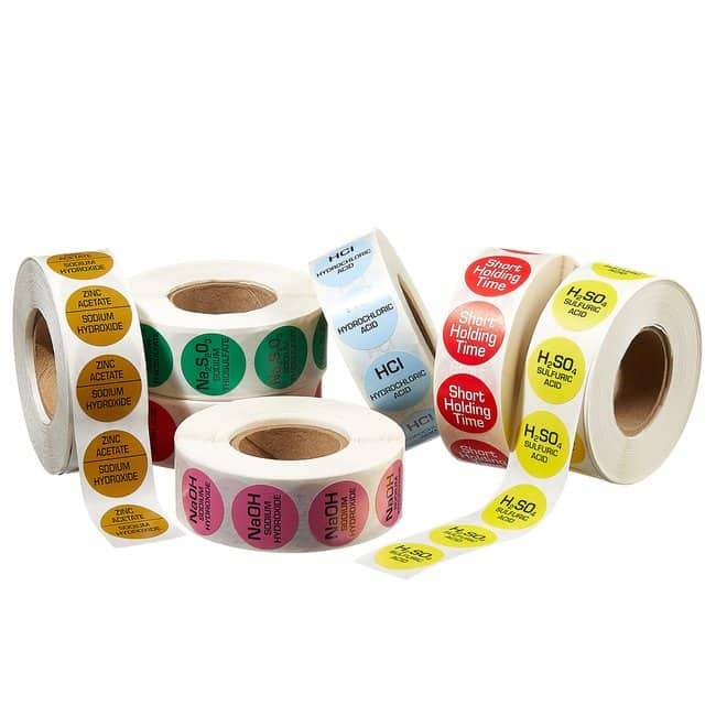 Thermo Scientific™ Color-coded Sample Alert Labels