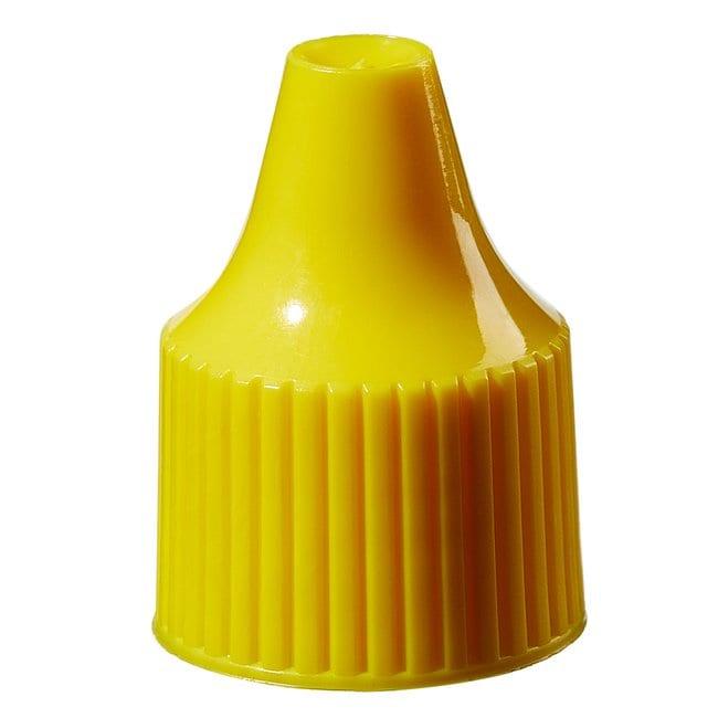 Thermo Scientific™Nalgene Verschlüsse für Tropfflaschen - Großpackung Yellow, 15-415 closure, bulk pack Thermo Scientific™Nalgene Verschlüsse für Tropfflaschen - Großpackung