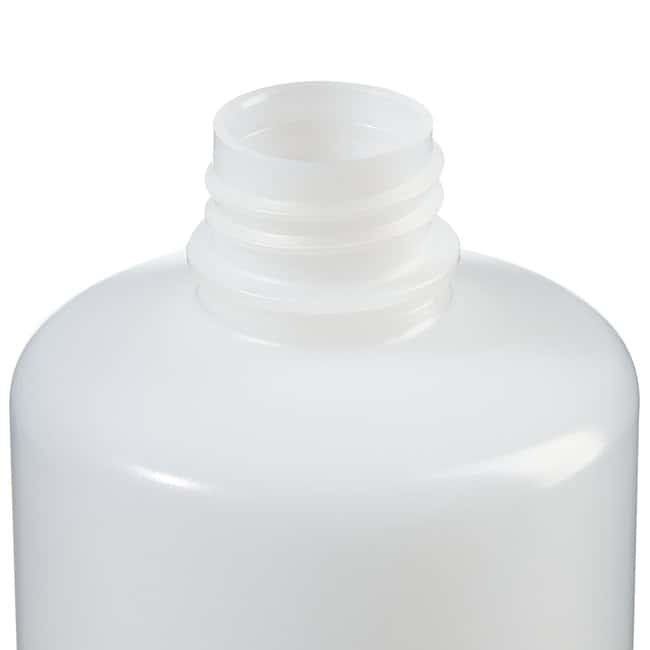 Thermo Scientific™Nalgene™ Narrow-Mouth Natural HDPE Packaging Bottles with Closure: Bulk Pack 500mL, 28-415 closure, bulk pack Thermo Scientific™Nalgene™ Narrow-Mouth Natural HDPE Packaging Bottles with Closure: Bulk Pack