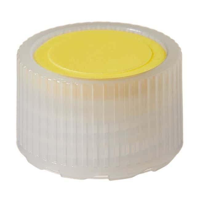 Thermo Scientific™ Nalgene™ HDPE High Profile Closures with Color Coders for Micro Packaging Vials: Sterile, Bulk Pack Yellow coder, 11mm, Bulk pack Thermo Scientific™ Nalgene™ HDPE High Profile Closures with Color Coders for Micro Packaging Vials: Sterile, Bulk Pack