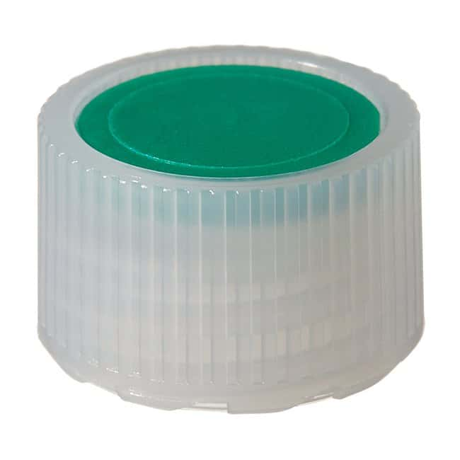 Thermo Scientific™Nalgene™ HDPE High Profile Closures with Color Coders for Micro Packaging Vials: Sterile, Bulk Pack Green coder, 11mm, Bulk pack Thermo Scientific™Nalgene™ HDPE High Profile Closures with Color Coders for Micro Packaging Vials: Sterile, Bulk Pack