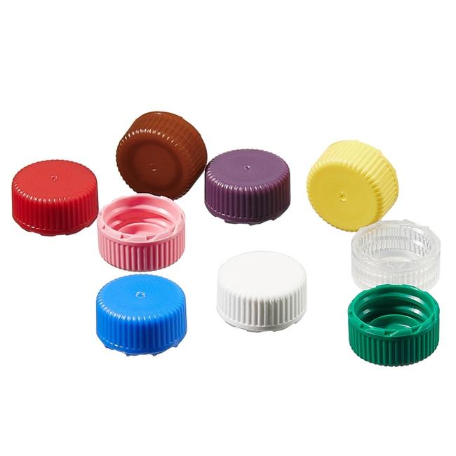 Thermo Scientific™Nalgene™ PPCO Low-Profile Closures for Micro Packaging Vials: Nonsterile, Bulk Pack: Sample Vials Vials