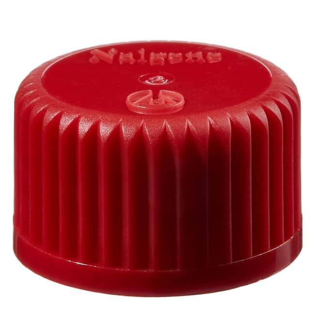 Thermo Scientific™ Nalgene™ Colored Polypropylene Closures with 20-415 Finish Red, 20-415 closure, bulk pack Products