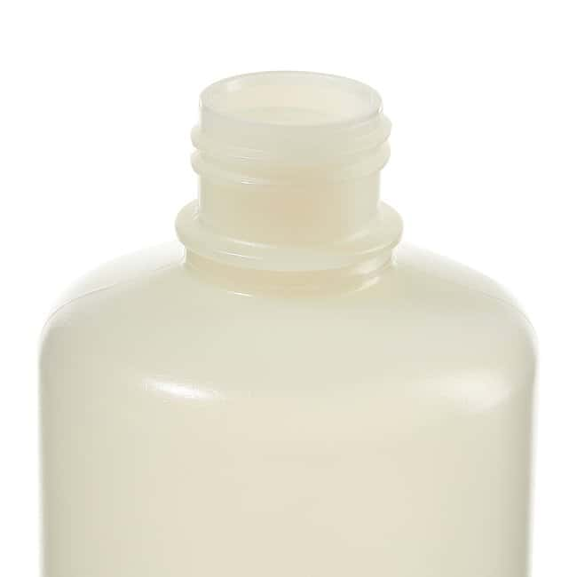 Thermo Scientific™ Nalgene™ Narrow-Mouth HDPE Packaging Bottles with Closure: Sterile, Shrink-Wrapped Trays