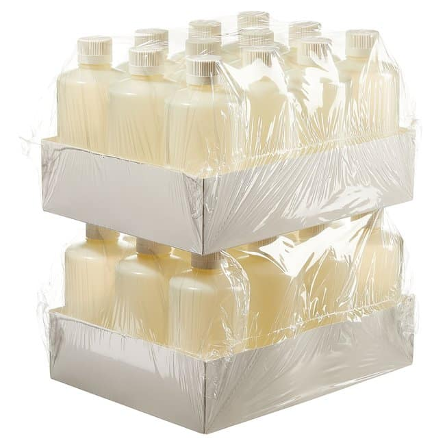 Thermo Scientific  Nalgene  Narrow-Mouth HDPE Packaging Bottles with Closure: Sterile, Shrink-Wrapped Trays
