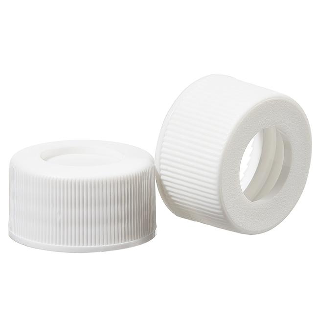 Thermo Scientific™I-Chem™ oben offene Verschlüsse mit Septum, 24-414mm, verklebte Septen, Bulkware: Umweltprobenahmeflaschen Flaschen