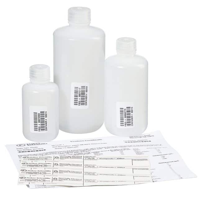 Fisherbrand™ Pre-Cleaned Narrow Mouth Leakproof Bottles