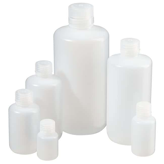Thermo Scientific™ Nalgene™ Narrow-Mouth Natural HDPE Packaging Bottles with Closure: Bulk Pack
