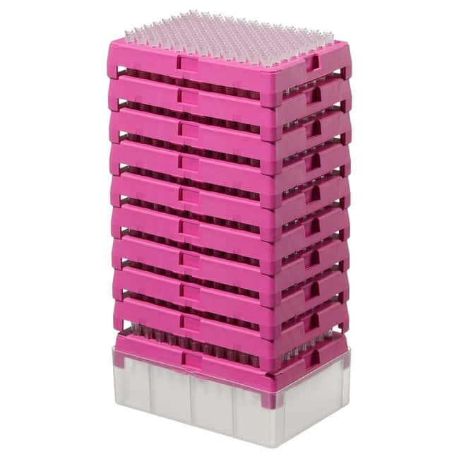 Thermo Scientific™Finntip™ Specific Pipette Tips Finntip™ Pipette Tips Refill starter kit; Volume: 0.2 to 10μL; Color code: Pink; Sterility: Non-sterile; Unit Size: 20× reload inserts of 192 tips (3840 tips in total) Thermo Scientific™Finntip™ Specific Pipette Tips